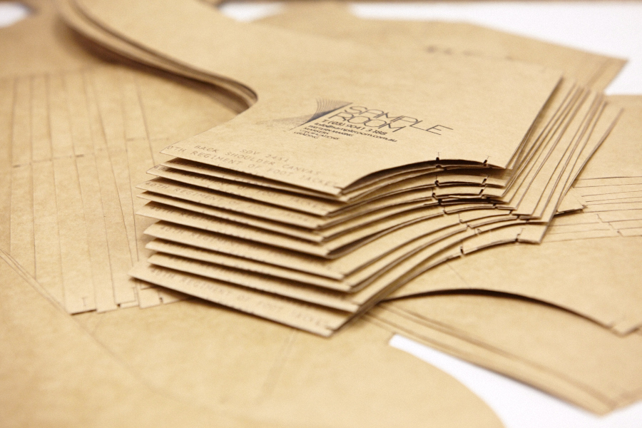 Why hand cut cardboard patterns when there is an easier way